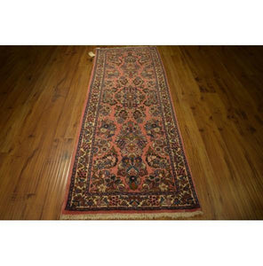 Fascinating 3x8 Authentic Hand-Knotted Rug