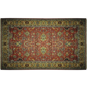 Harooni Rugs - Dazzling 12x20 Authentic Hand-Knotted Serapi Rug - India