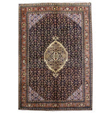 7x10 Authentic Hand Knotted Persian Ardebil Rug - Iran
