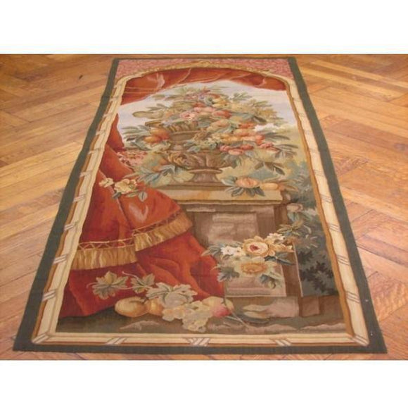 2x6 Authentic Handmade 17th Century Style Tapestry-China