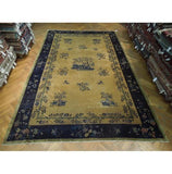10x16 Authentic Hand Knotted Antique Art Deco Rug - China
