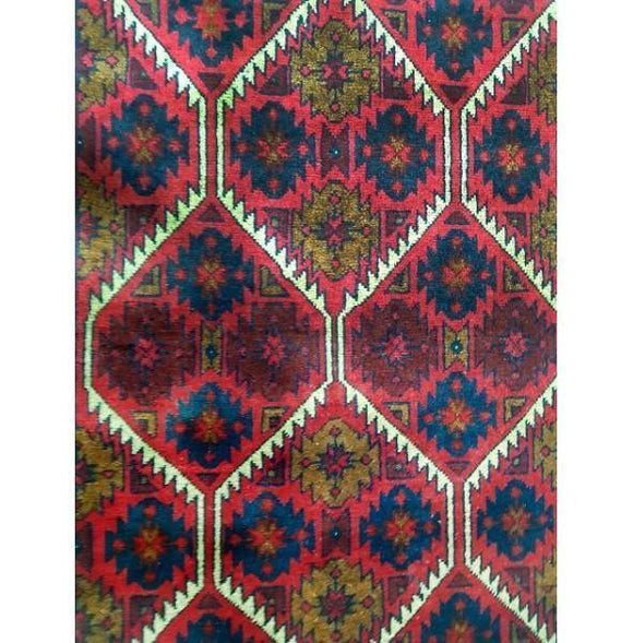 Stunning 5x4 Authentic Hand-knotted Khal Momadi Rug - Pakistan
