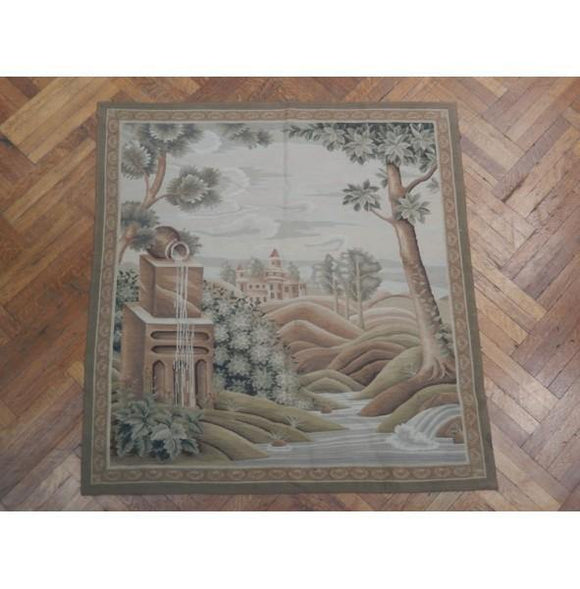 5x5 Authentic Handmade Wall Hanging Tapestry - China
