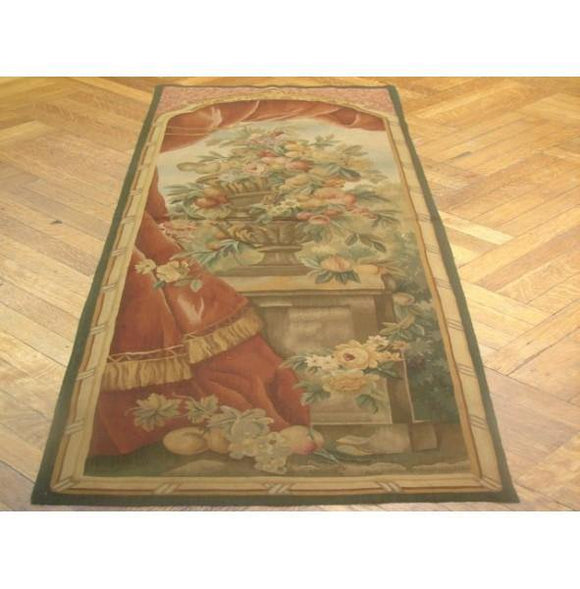 2x6 Authentic Handmade Tapestry Rug-China