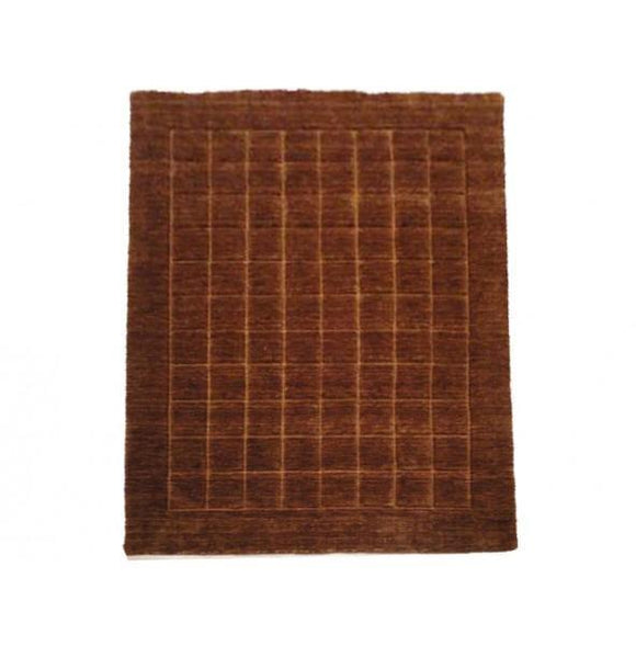 Harooni Rugs - Exotic 5x6 Authentic Handmade Contemporary Rug-India