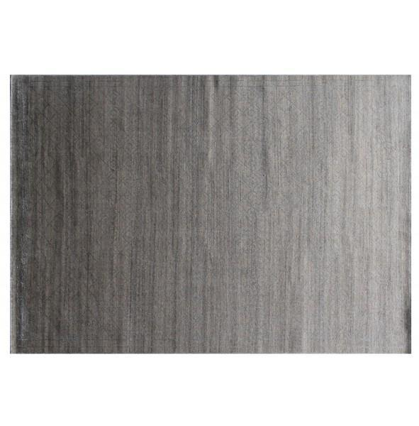 12x15 Modern Hand made Wool Rug GRAY - India - bestrugplace