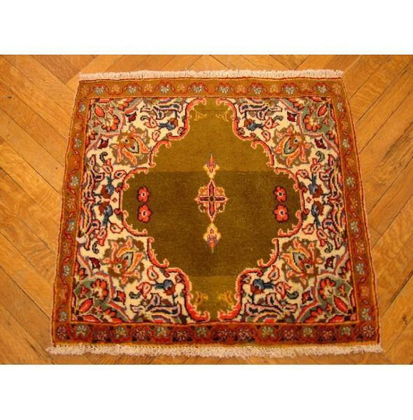 3x3 Authentic Handmade Persian Rug-Iran