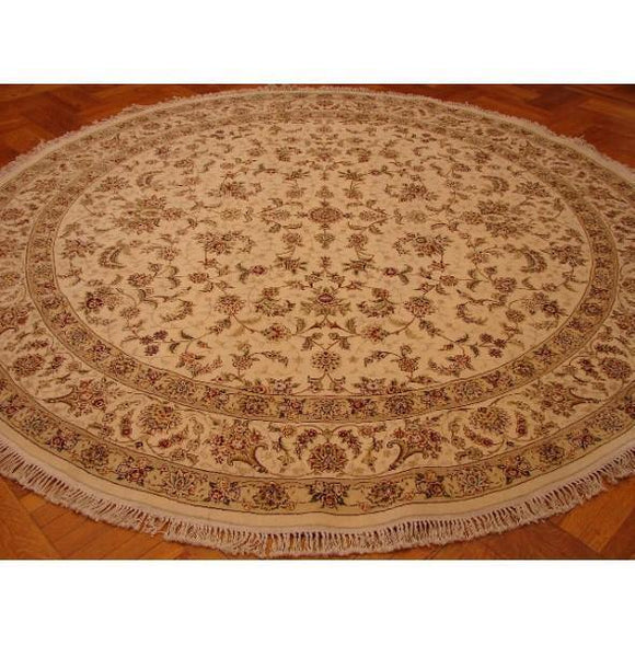 10x10 Authentic Handmade Sino-Wool&Silk Rug.