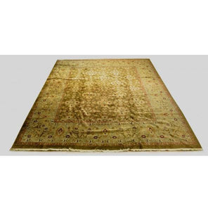 Harooni Rugs - Dazzling 12x15 Authentic Hand-knotted Oushak - Rug