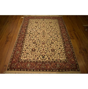 Fascinating 4x6 Authentic Hand-Knotted Rug