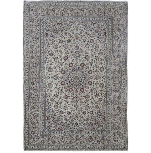 Harooni Rugs - Premium 8x12 Authentic Hand-knotted Persian Signed Kashan Rug - Iran