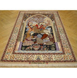 Harooni Rugs - Premium 5x8 Authentic Handmade Persian Esfahan High-End