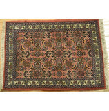 Fascinating 1x2 Authentic Hand-Knotted Rug