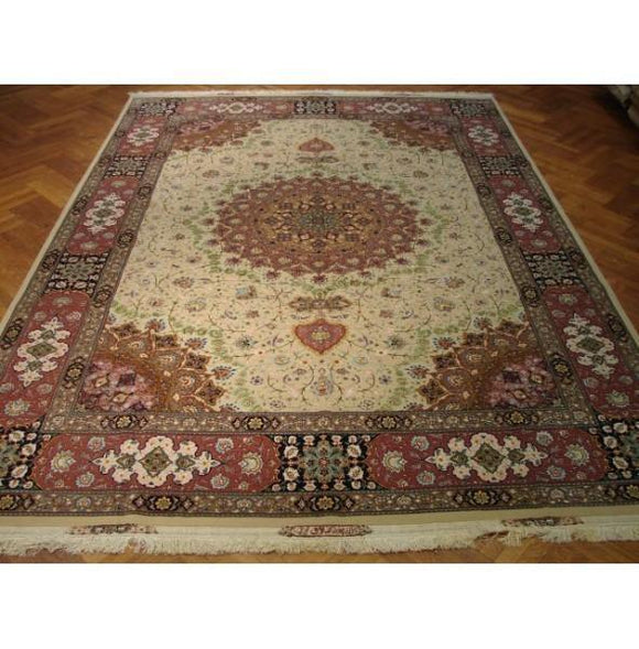 10x13 Authentic Handmade Fine Silk&Wool Rug-China