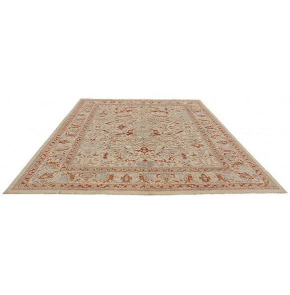 Radiant 16x20 Authentic Hand-knotted Chobi Peshawar Rug - Pakistan