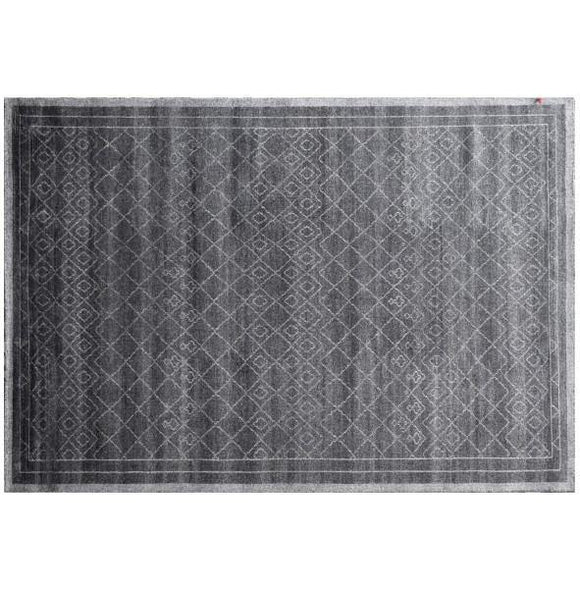 Harooni Rugs - Exotic 8x12 Authentic Hand-Knotted Modern Rug - India