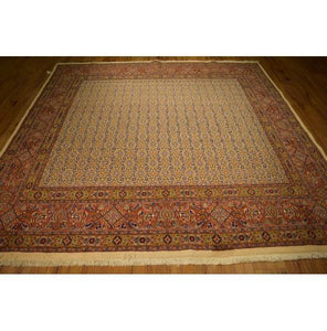 Fascinating 8x8 Authentic Hand-Knotted Rug