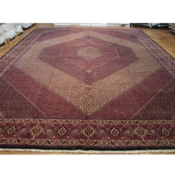 13x20 Authentic Handmade Persian Bijar Rug-Iran
