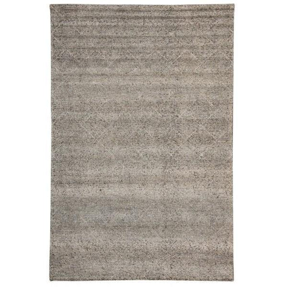 7x10 Authentic Hand Knotted Contemporary Rug - India