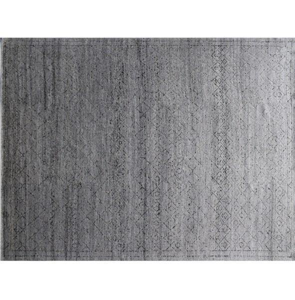 12x18 SOLID GRAY Modern Rug - India - bestrugplace