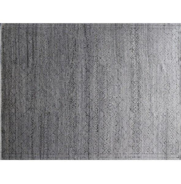 12x18 Authentic Hand-Knotted Modern Rug - India