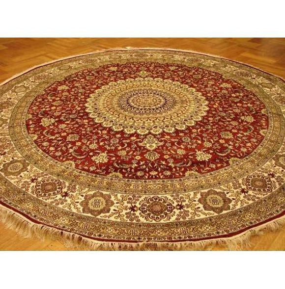 10x10 Authentic Handmade Fine Silk Rug-China