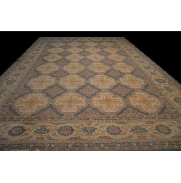13x20 Authentic Hand Knotted Super Chobi Peshawar Rug - Pakistan