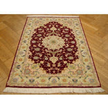 3x5 Authentic Handmade High-End Persian Tabriz Rug-IRAN