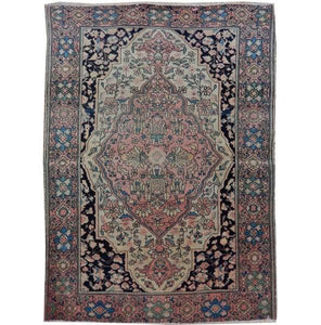 Harooni Rugs - Stunning 3x5 Authentic Handmade Semi-Antique Persian Rug - Iran