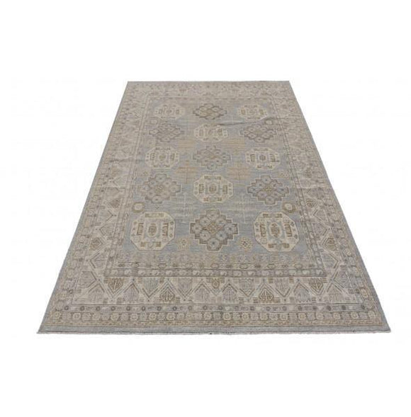 Radiant 8x13 Authentic Hand-knotted Chobi Peshawar Rug - Pakistan