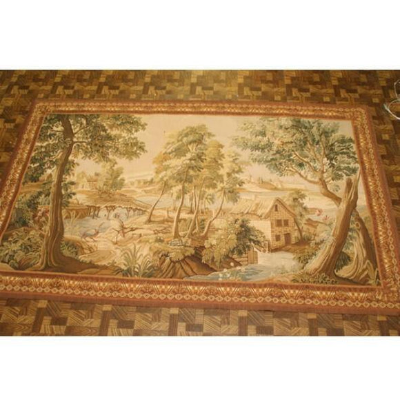 4x7 Authentic Handmade Tapestry Rug - China