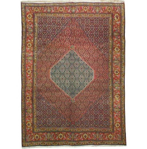 10x14 Authentic Handmade Persian Bijar Rug-Iran
