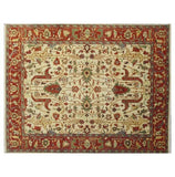 Harooni Rugs - Exotic 8x10 Authentic Hand-Knotted Serapi Rug - India