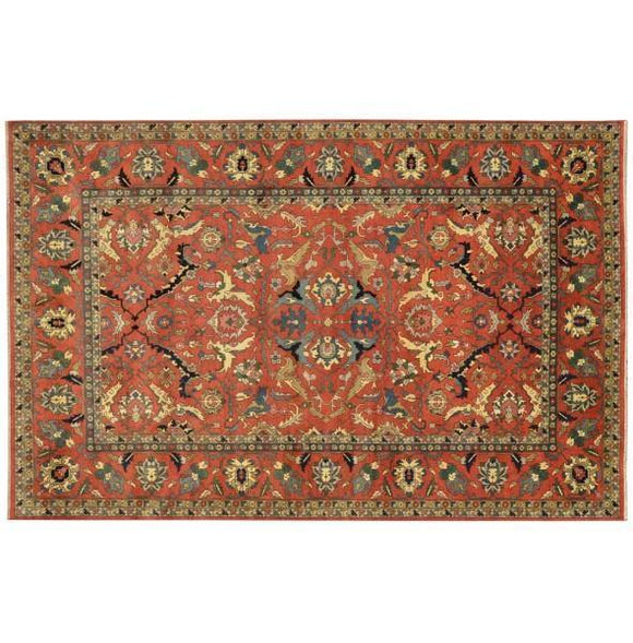 12x18 Authentic Hand Knotted Serapi Rug - India