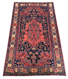 5x8 Authentic Hand-knotted Persian Hamadan Rug - Iran