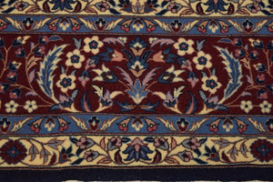 6x10 Authentic Hand Knotted High End Sino Isfahan Rug - China