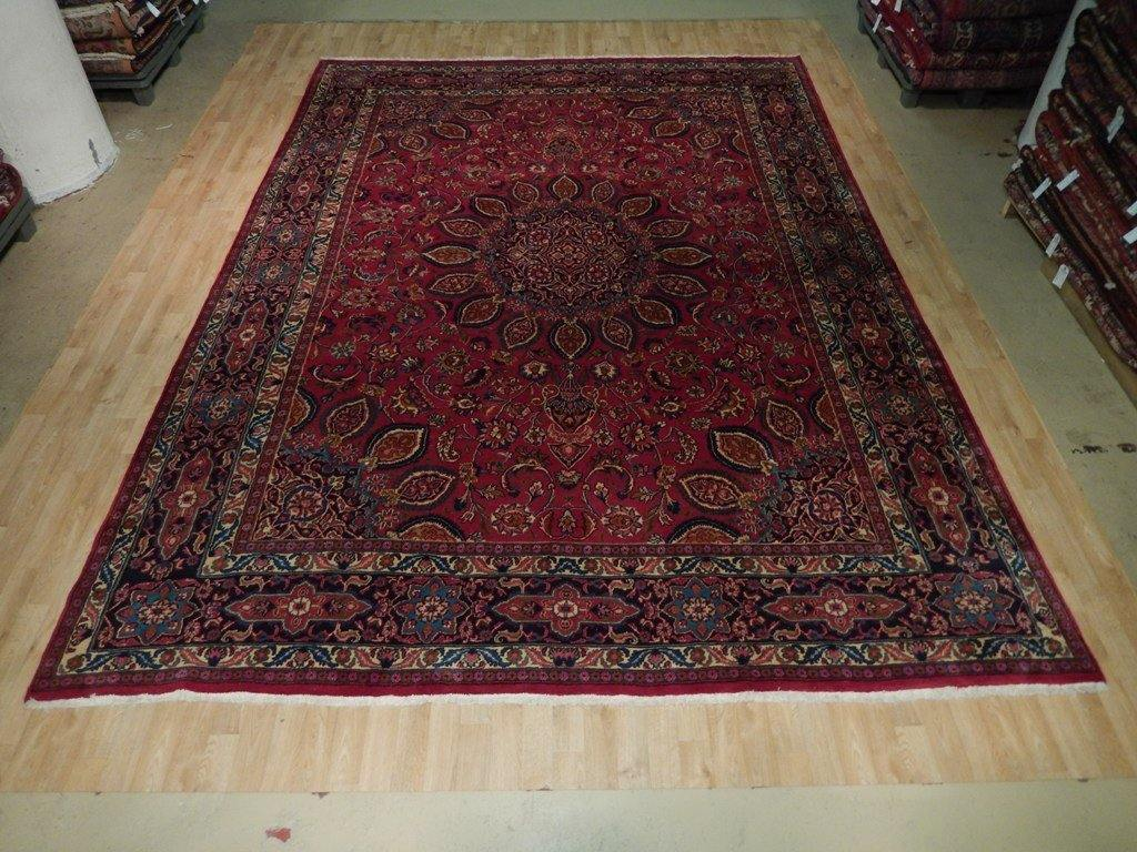 10x13 Authentic Hand Knotted Persian Sheik Safavide Rug - Iran 73591
