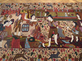4x6 Authentic Handmade Persian Balouch Rug-Iran