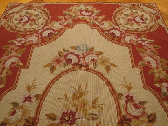 Harooni Originals - 3x5 Authentic Handmade Needlepoint Rug - China