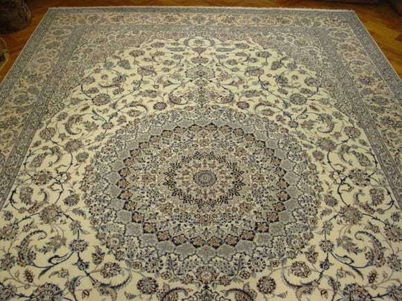 13x20 Authentic Handmade Persian Nain Rug