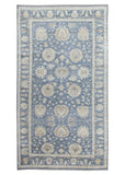 Harooni Originals - 10x19 Authentic Hand Knotted Oushak Rug - India