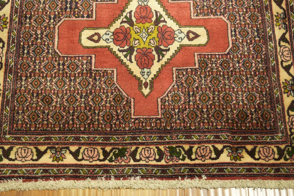 Harooni Rugs - Authentic Hand-Knotted 3x13 EB Seneh Runner - Traditional