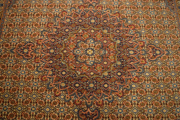 7 x 7 Authentic Hand-Knotted Rug - India