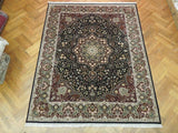 8x10 Authentic Handmade Wool & Silk High End Lavar Rug - China