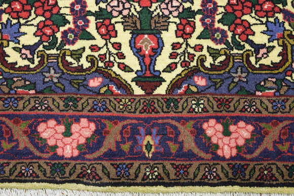 Harooni Rugs - Authentic Hand-Knotted 4x5 Songhor EB Sarouk Rug - Traditional