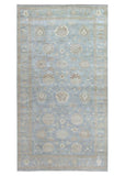 10x19 Authentic Hand Knotted Oushak Rug - India