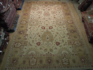 10x15 Authentic Hand Knotted Traditional Jaipur Rug - India