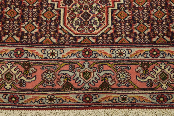 Harooni Rugs - Authentic Hand-Knotted 4x5 Fine Quality EB Seneh Rug - Traditional