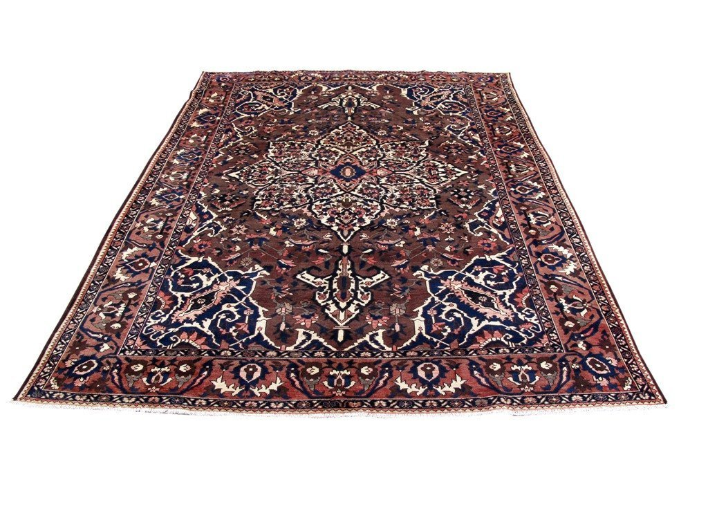 9x12 Authentic Hand Knotted Persian Bakhtiari Rug - Iran