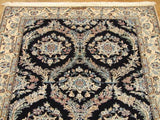 3x4 Authentic Handmade Signed Persian Nain Rug-IRAN